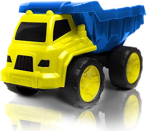 Hunson My First Dump Truck with Moveable Parts (Blue)
