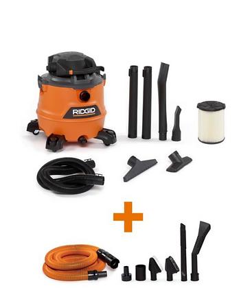 16 Gal. 6.5-Peak HP NXT Wet/Dry Shop Vacuum