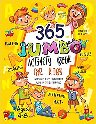 365 Jumbo Activity Book for Kids Ages 4-8365 Jumbo Activity Book for Kids Ages 4