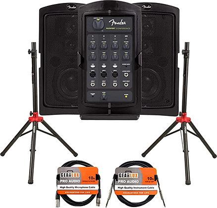 Fender Passport Conference Portable PA System Bundle