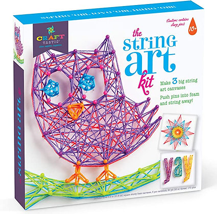Craft-tastic DIY String Art