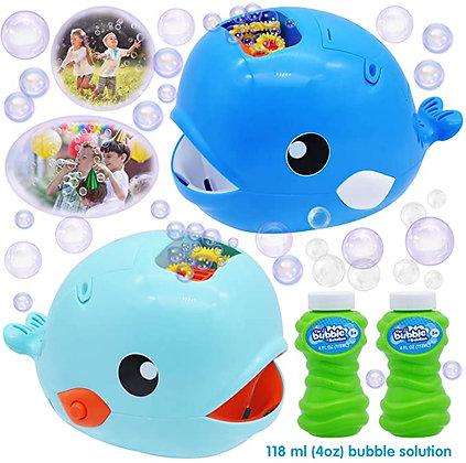 JOYIN 2 Bubble Machines Whale Bubble Maker Automatic Bubble Blower