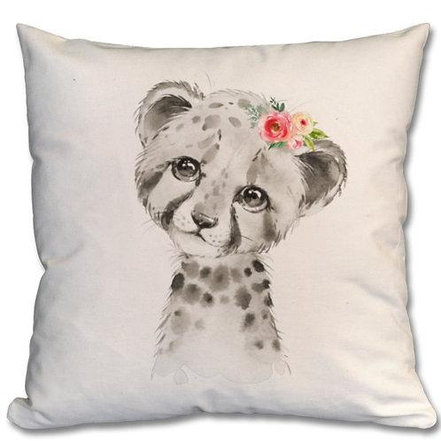 Cheetah Themed Personalised Cushions