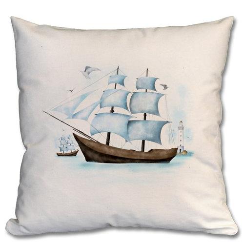 Sailboat Themed Personalised Cushions