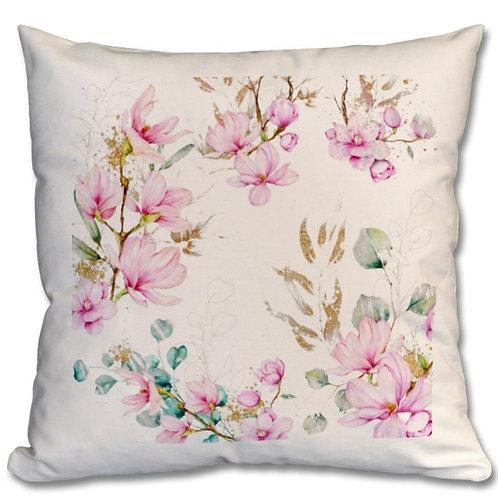 Magnolia Themed Personalised Cushions