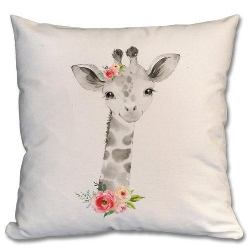 Giraffe Themed Personalised Cushions