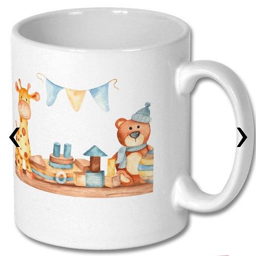 Wooden Toys_6 Themed Personalised Mug