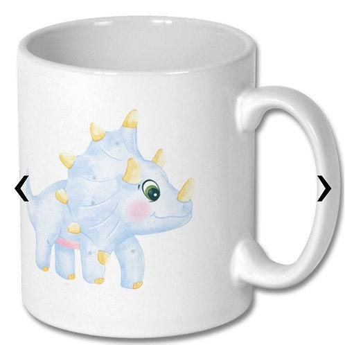 Dinosaur_8 Themed Personalised Mug