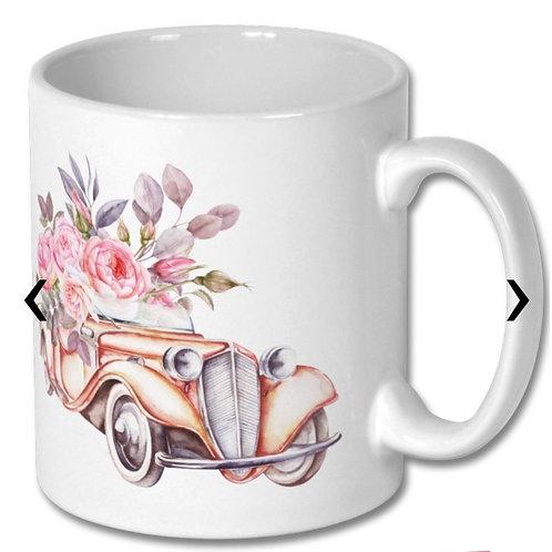 Vintage Car Themed Personalised Mug
