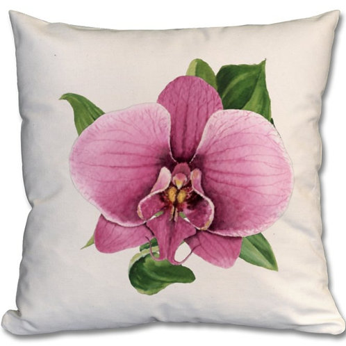 Orchid Themed Personalised Cushions