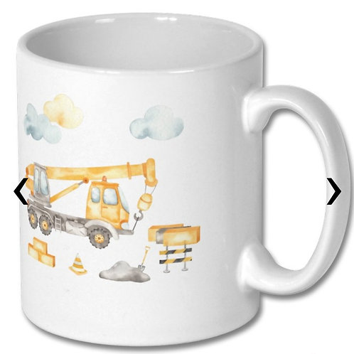 Crane Themed Personalised Mug