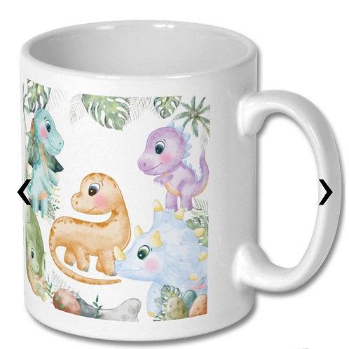 Dinosaurs Themed Personalised Mug
