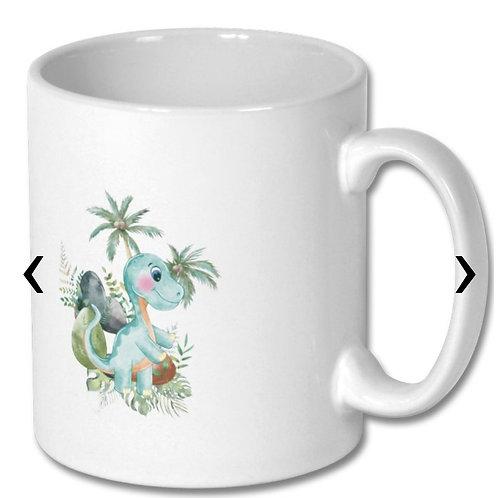 Dinosaur_6 Themed Personalised Mug