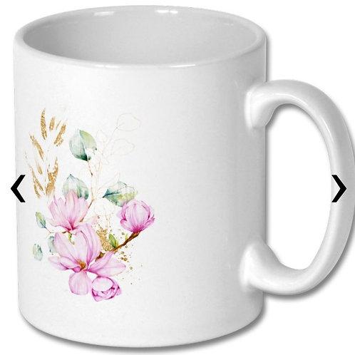 Magnolia_3 Themed Personalised Mug