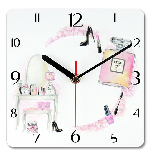 Beauty_1 Themed Personalised Square Clock