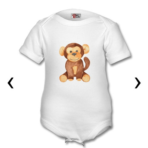 Wooden Toys_12 Themed Personalised Baby Grows