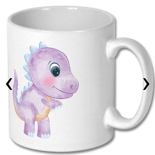 Dinosaur_7 Themed Personalised Mug