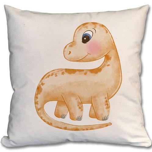 Dinosaur Themed Personalised Cushion