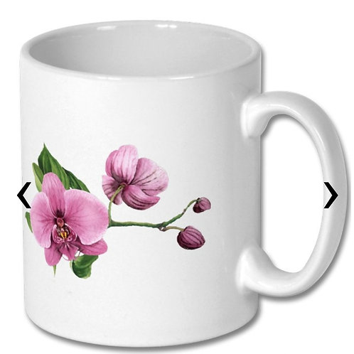 Orchids_2 Themed Personalised Mug