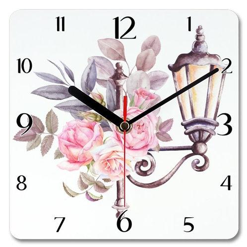 Paris_5 Themed Personalised Square Clock