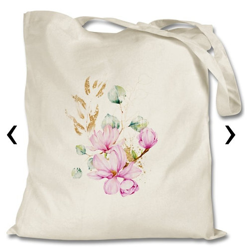 Magnolia_3 Themed Personalised Tote Bag