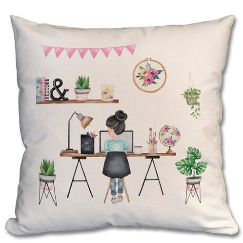 Office Girl Themed Personalised Cushions