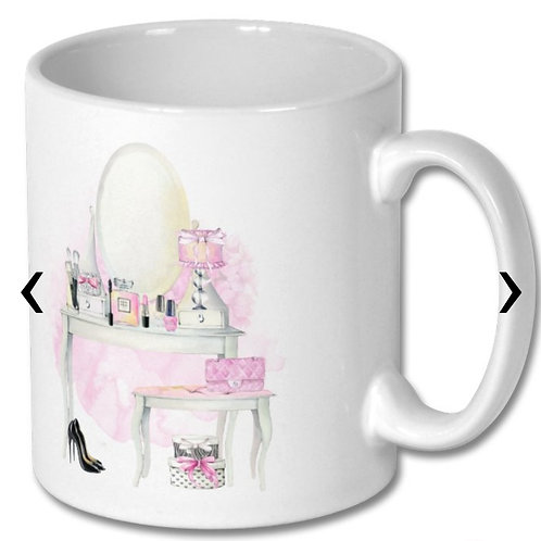 Beauty Themed Personalised Mug