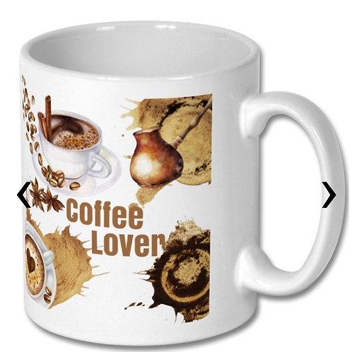 Coffee Lover_2 Themed Personalised Mug