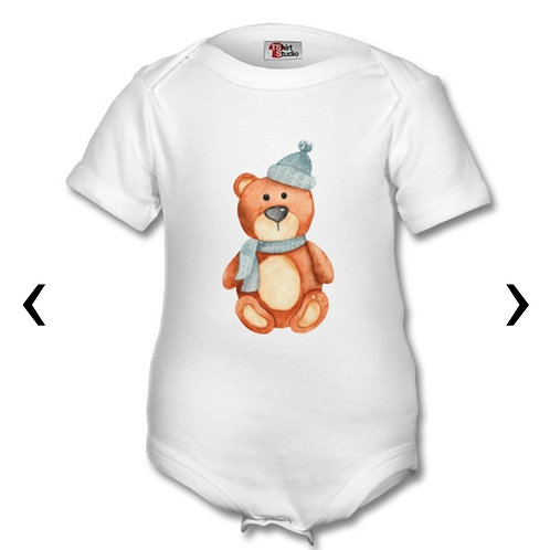 Wooden Toys_13 Themed Personalised Baby Grows