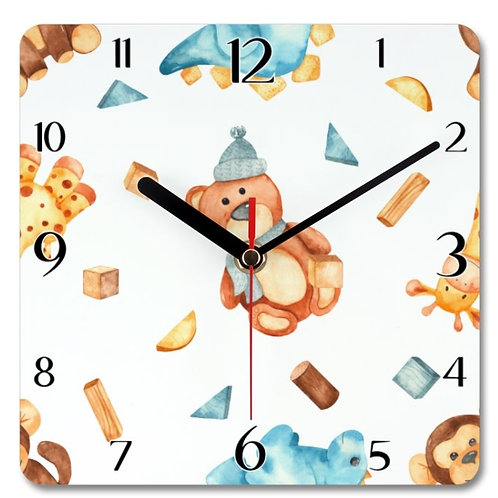 Wooden Toys_17 Themed Personalised Clock