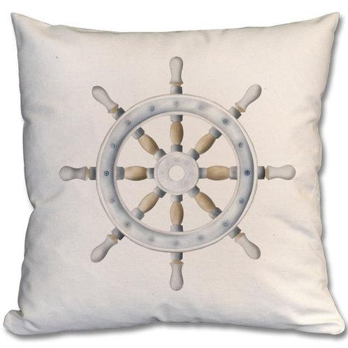 Sailboat Steering Wheel Themed Personalised Cushions