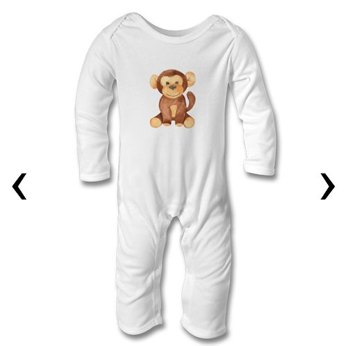 Wooden Toys_12 Themed Personalised Baby Bodysuit
