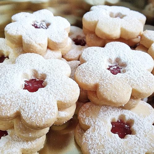 Gluten-free Linzer Biscuits (small 450g)