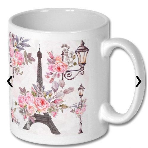 Paris_2 Themed Personalised Mug