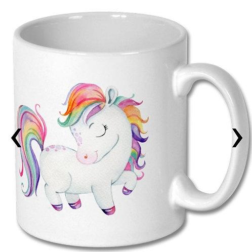 Pony_6 Themed Personalised Mug