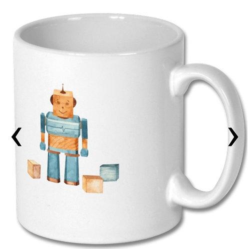 Wooden Toys Themed Personalised Mug