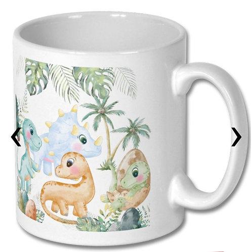 Dinosaurs_2 Themed Personalised Mug