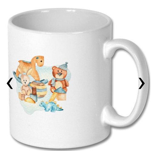 Wooden Toys_3 Themed Personalised Mug