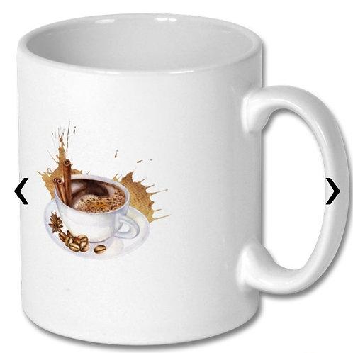 Coffee Themed Personalised Mug