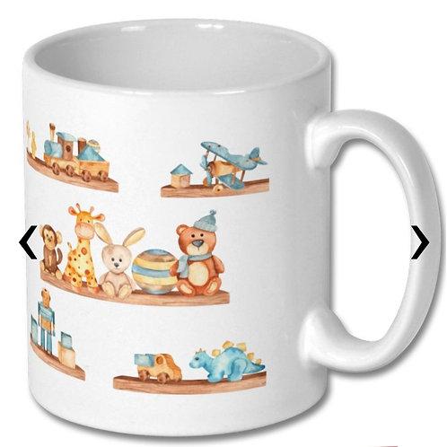 Wooden Toys_8 Themed Personalised Mug