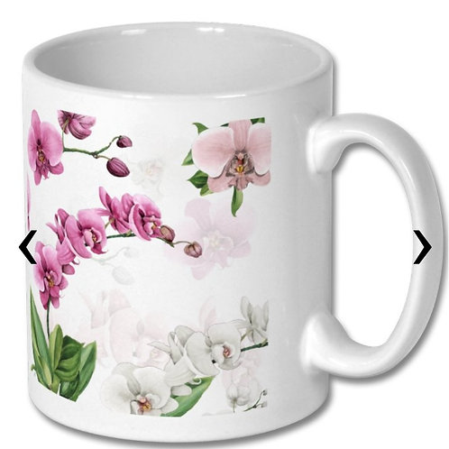 Orchids_3 Themed Personalised Mug