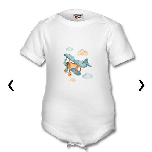 Wooden Toys_2 Themed Personalised Baby Grows