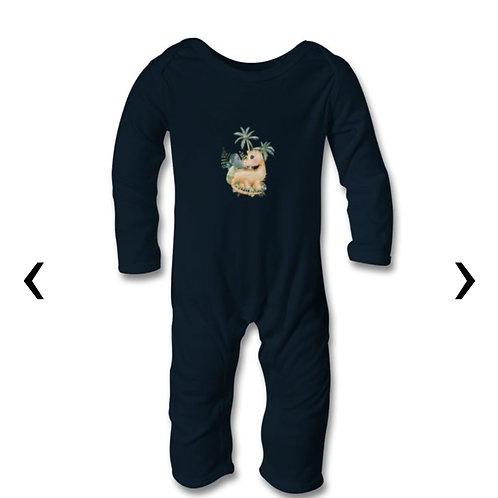 Dinosaur_4 Themed Personalised Baby Bodysuit