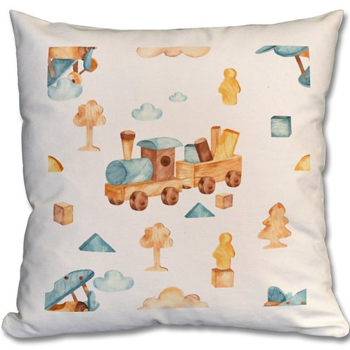 Wooden Toys_18 Themed Personalised Cushions