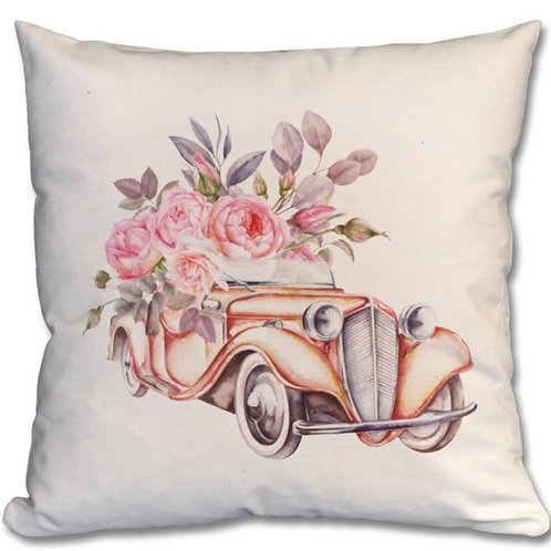 Vintage Car Themed Personalised Cushions