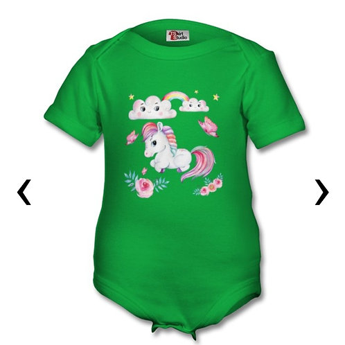 Pony_3 Themed Personalised Baby Grows