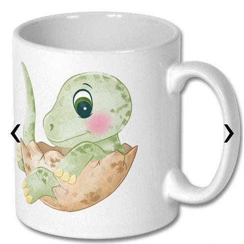 Dinosaur_10 Themed Personalised Mug
