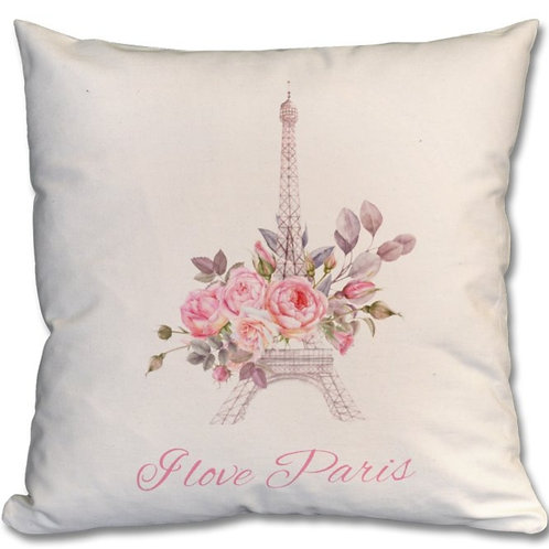 Eiffel Tower Themed Personalised Cushions