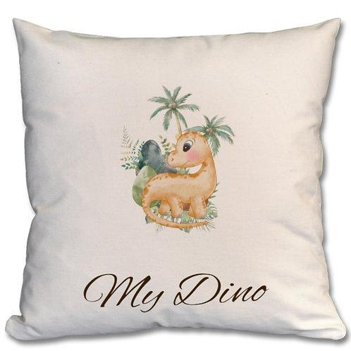 Dinosaur_4 Themed Personalised Cushion