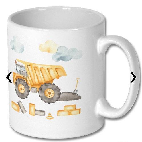 Dump Truck_2 Themed Personalised Mug